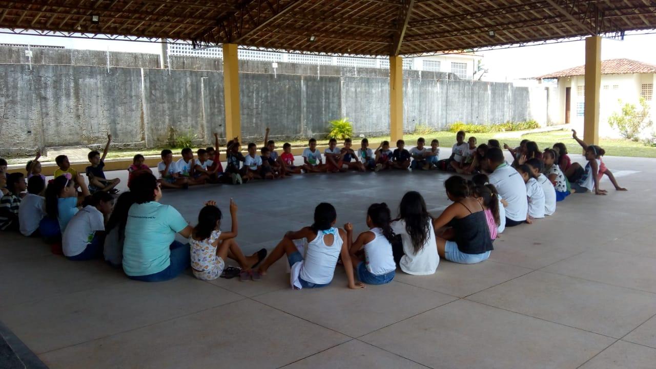 Inicio das atividades do Miramangue no Projeto Beira da Linha